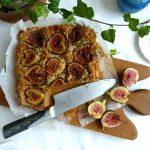 Fresh Fig Dessert Cake