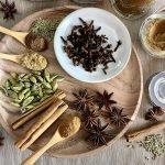 Making Festive Spice Mix