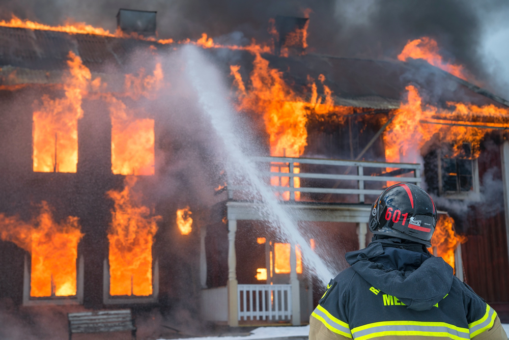 Chronic inflammation is like a house on fire.