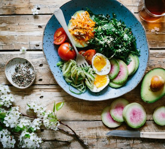 The Paleo Diet: healthy, fresh, nutritious and natural.
